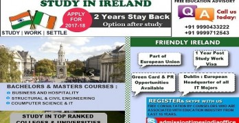 Study in Ireland with IELTS 6 Band