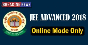 JEE Advanced 2018 Online Mode Only