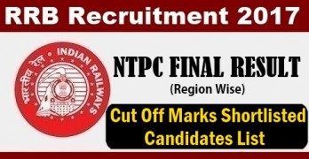 RRB NTPC FINAL Result