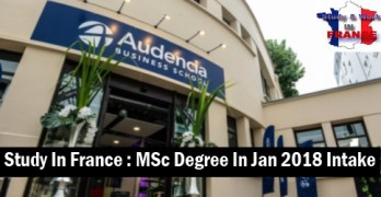 Engineering Management in Audencia France 2019 Intake