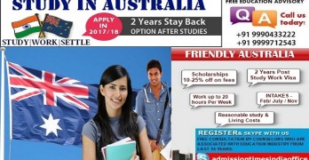 Study In Australia – 2 Years Post Study Work Visa
