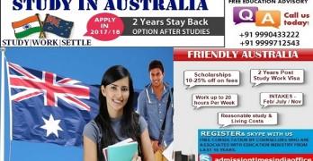 Study In Australia – 2 Years Post Study Work Visa