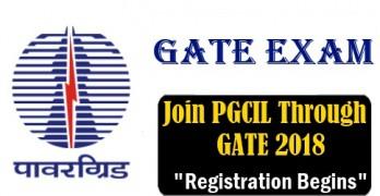 Join PGCIL through GATE 2018