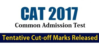 CAT Cut off 2017