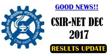 CSIR NET Dec 2017 Result