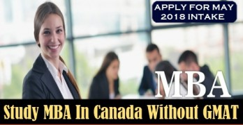 Study MBA in Canada without GMAT