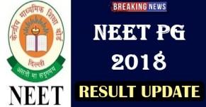 NEET PG 2018 Result