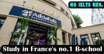 Study in France's No.1 B-school