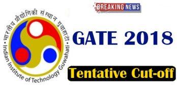 GATE 2018 Cutoff