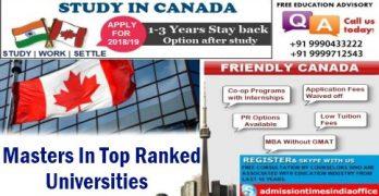 Study in Canada Top Universities
