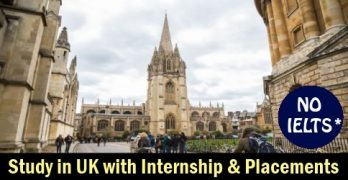 Study in UK with Internship & Placements