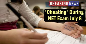 Cheating During NET Exam July 8