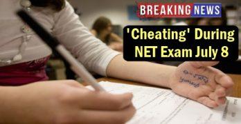 Cheating During NET Exam July 8