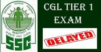 SSC CGL 2018 Tier I Exam Delayed