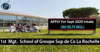 Study Management In France's Top School