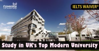 Study in UK's Top Modern University