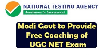 Free Govt Coaching of UGC NET Exam