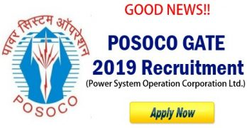 POSOCO GATE 2019 Recruitment