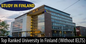 Study at High Ranked University in Finland