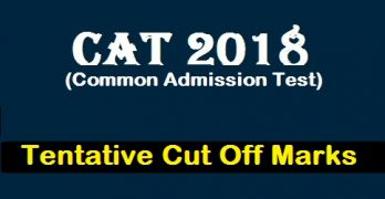 CAT Cut off 2018