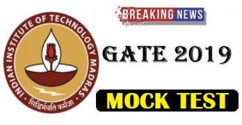 GATE 2019 Mock Test