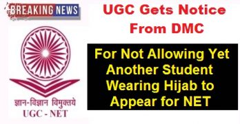 UGC Gets Notice from DMC Regarding Hijab