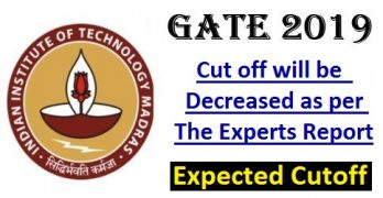 GATE 2019 Expected Cutoff