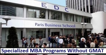 Specialized MBA Programs In France