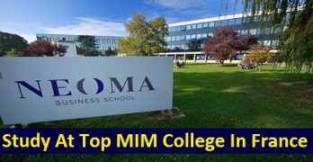 Study At Top MIM College In France