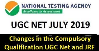 UGC NET July 2019 New Course