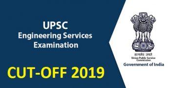 UPSC IES 2019 Cutoff