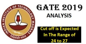 GATE 2019 Expected Cut off