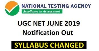 NTA Changes Syllabus for UGC NET