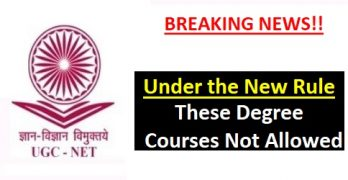 UGC Bans Courses in Distance Mode