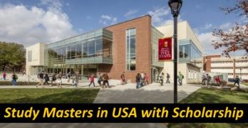 Study Masters In USA with Scholarships