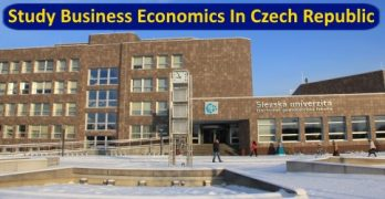 Study Business Economics In Czech Republic