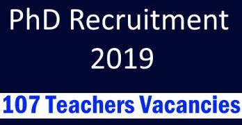 NU To Recruit 107 Teachers