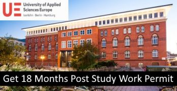 18 Months Post Study Work Permit In Germany