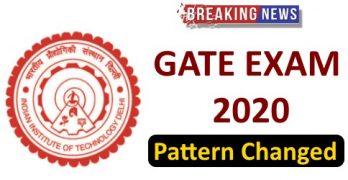 GATE 2020 Pattern
