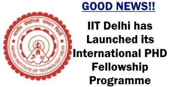 International PHD Fellowship Programme