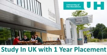 Study In UK with 1 Year Placement