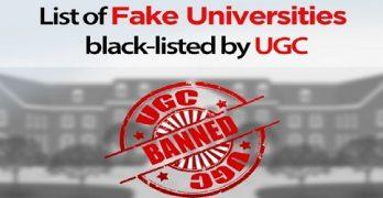 UGC Fake Universities List