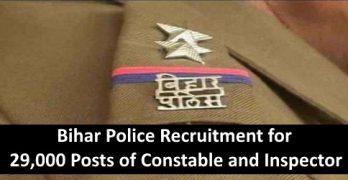 Bihar Police Application Form 2019