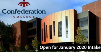 Confederation College January Intake 2020