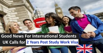 2 Years Post Study Work Visa In UK