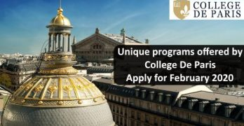 Study in France at College De Paris