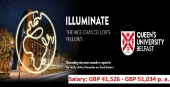 Illuminate: The Vice-Chancellor's Fellowship Scheme