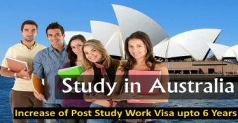 6 Years Post Study Work Visa In Australia