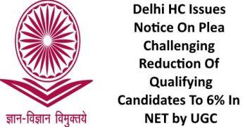 Delhi HC Issues Notice to UGC