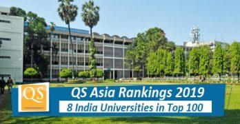 QS Asia University Ranking 2019
